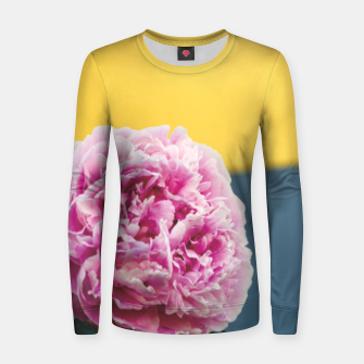 Thumbnail image of Peony Women sweater, Live Heroes