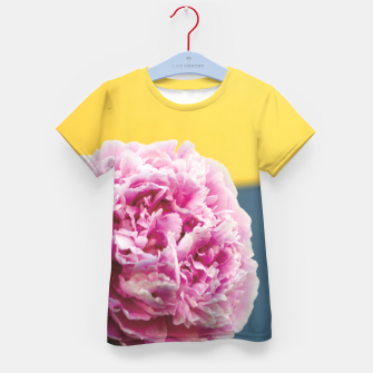 Thumbnail image of Peony Kid's t-shirt, Live Heroes