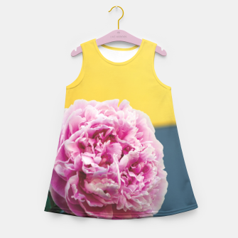 Miniatur Peony Girl's summer dress, Live Heroes