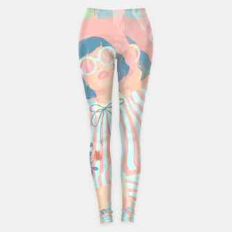Thumbnail image of Complex Vision Leggings, Live Heroes