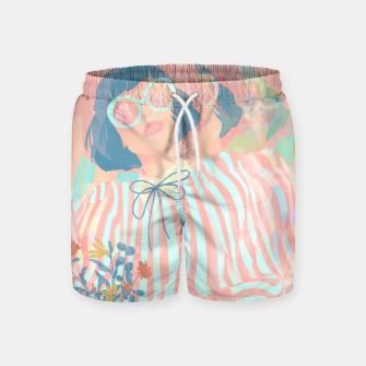 Thumbnail image of Complex Vision Swim Shorts, Live Heroes