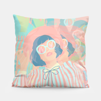 Thumbnail image of Complex Vision Pillow, Live Heroes