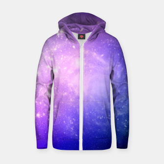 Thumbnail image of Pattern Galaxy Sweat capuche zippé , Live Heroes