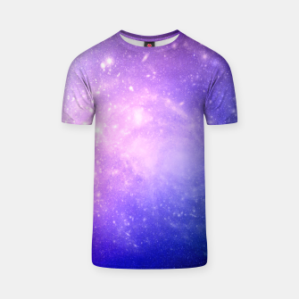 Thumbnail image of Pattern Galaxy T-shirt, Live Heroes