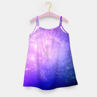 Thumbnail image of Pattern Galaxy Robe de fille, Live Heroes