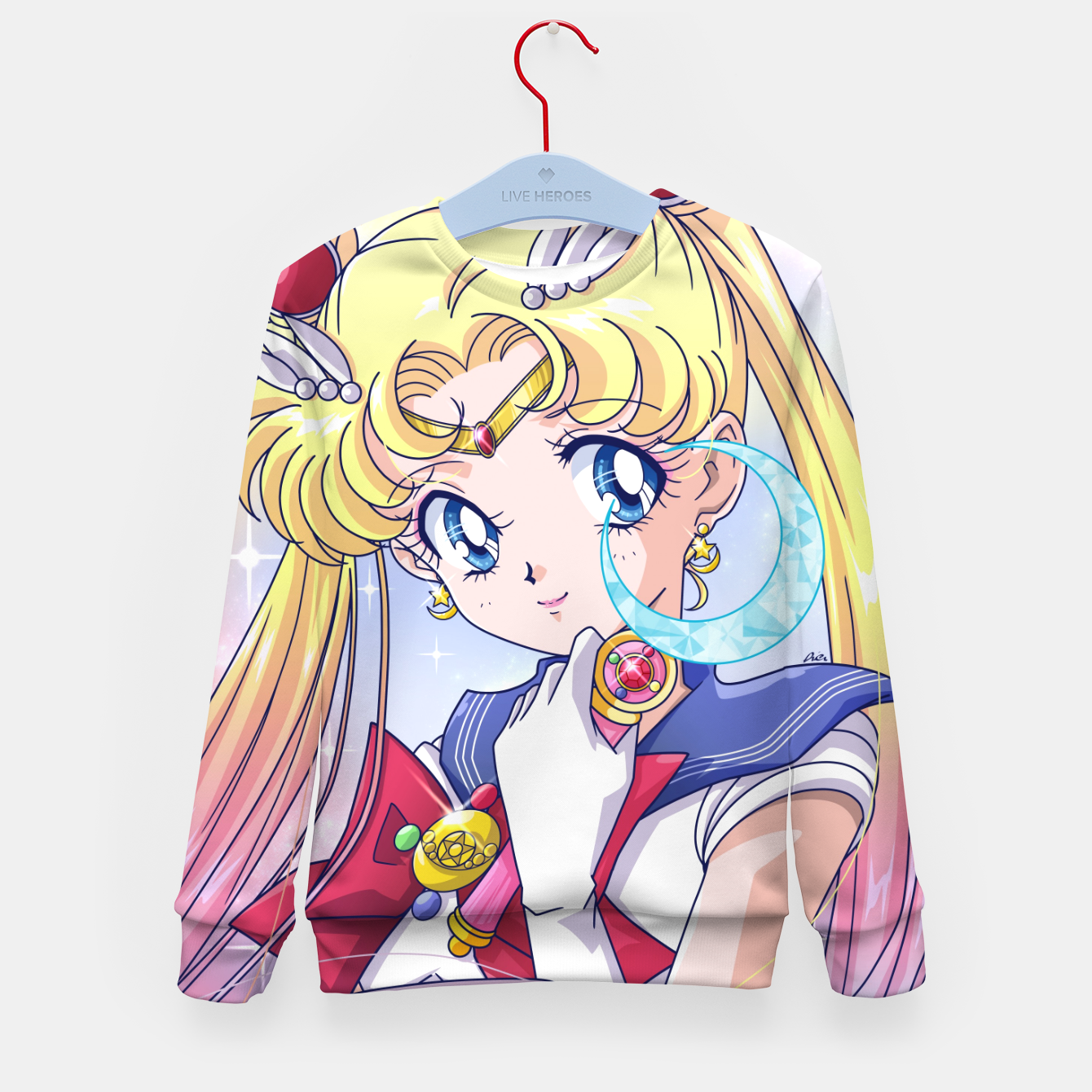 Zdjęcie Sailor Moon Kid's sweater - Live Heroes