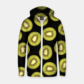 Thumbnail image of Pattern Kiwis Fruit Sweat capuche zippé , Live Heroes