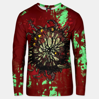 Super Horror Monster Beast Illustration Unisex sweater Bild der Miniatur