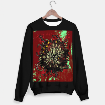 Miniatur Super Horror Monster Beast Illustration Sweater regular, Live Heroes