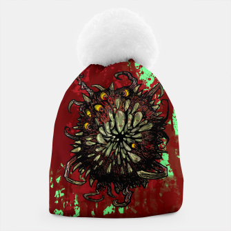 Super Horror Monster Beast Illustration Beanie Bild der Miniatur