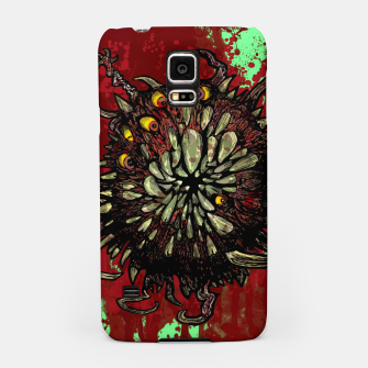 Miniatur Super Horror Monster Beast Illustration Samsung Case, Live Heroes