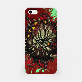 Super Horror Monster Beast Illustration iPhone Case Bild der Miniatur