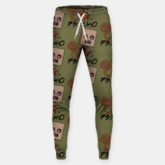 Thumbnail image of Psycho Sack Monkey with Text Sweatpants, Live Heroes