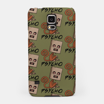 Thumbnail image of Psycho Sack Monkey with Text Samsung Case, Live Heroes