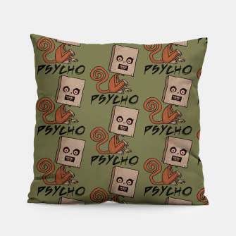 Imagen en miniatura de Psycho Sack Monkey with Text Pillow, Live Heroes