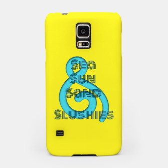 Thumbnail image of Sea Sun Sand & Slushies (Yellow) Samsung Case, Live Heroes