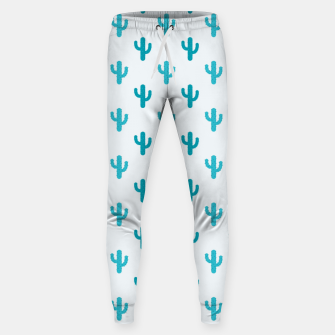 Thumbnail image of Cactuses Pattern Sweatpants, Live Heroes