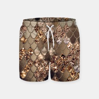 Miniaturka Mermaid Glitter Scales #6 #shiny #decor #art Badeshorts, Live Heroes