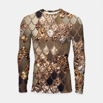 Miniaturka Mermaid Glitter Scales #6 #shiny #decor #art Longsleeve rashguard, Live Heroes