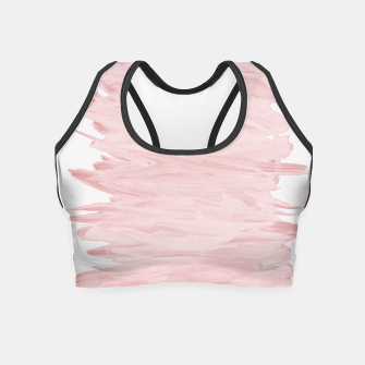 Miniaturka Abstract Minimalism #5 #minimal #ink #decor #art Crop Top, Live Heroes