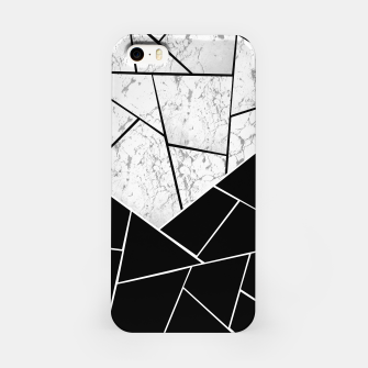 Yin Yang Marble Geometric Glam #1 #geo #decor #art  iPhone-Hülle thumbnail image