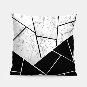 Yin Yang Marble Geometric Glam #1 #geo #decor #art  Kissen thumbnail image