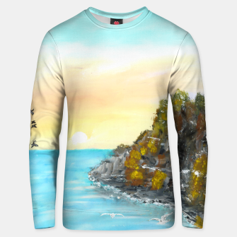 Miniatur Fly away Unisex sweater, Live Heroes