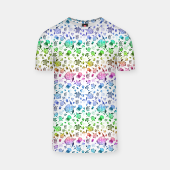Thumbnail image of Ocean Life-Rainbow T-shirt, Live Heroes