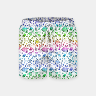 Thumbnail image of Ocean Life-Rainbow Swim Shorts, Live Heroes