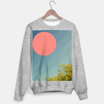 Miniatur Sky and flowers Sweater regular, Live Heroes