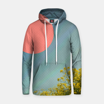 Thumbnail image of Sky and flowers Hoodie, Live Heroes