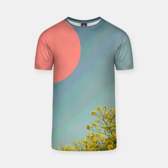 Thumbnail image of Sky and flowers T-shirt, Live Heroes
