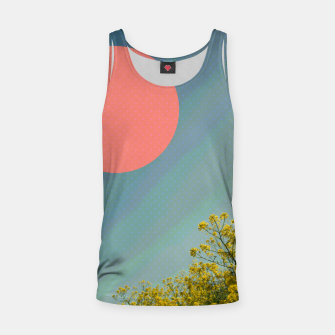 Miniatur Sky and flowers Tank Top, Live Heroes