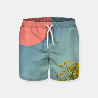 Imagen en miniatura de Sky and flowers Swim Shorts, Live Heroes