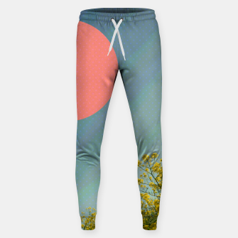 Thumbnail image of Sky and flowers Sweatpants, Live Heroes