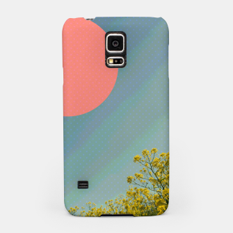 Miniatur Sky and flowers Samsung Case, Live Heroes