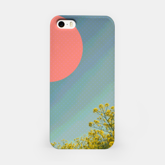 Miniatur Sky and flowers iPhone Case, Live Heroes
