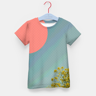 Thumbnail image of Sky and flowers Kid's t-shirt, Live Heroes