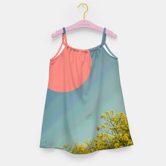 Thumbnail image of Sky and flowers Girl's dress, Live Heroes