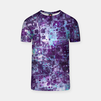 Thumbnail image of Purple Grunge Fractal T-shirt, Live Heroes
