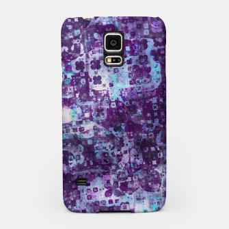 Thumbnail image of Purple Grunge Fractal Samsung Case, Live Heroes