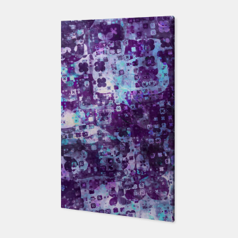 Thumbnail image of Purple Grunge Fractal Canvas, Live Heroes