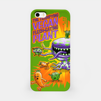 Thumbnail image of Terrifying Vegan Flesh Eating Plant iPhone-Hülle, Live Heroes