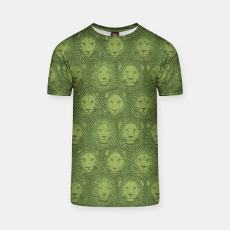 Thumbnail image of Camelot - Copper Green Lions T-shirt, Live Heroes