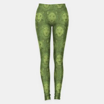 Thumbnail image of Camelot - Copper Green Lions Leggings, Live Heroes