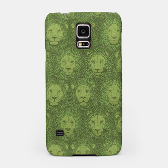 Thumbnail image of Camelot - Copper Green Lions Samsung Case, Live Heroes