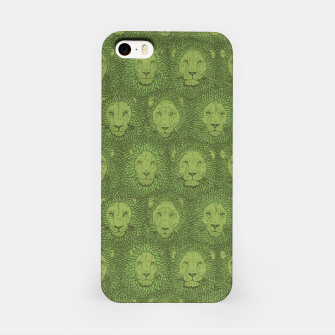 Thumbnail image of Camelot - Copper Green Lions iPhone Case, Live Heroes