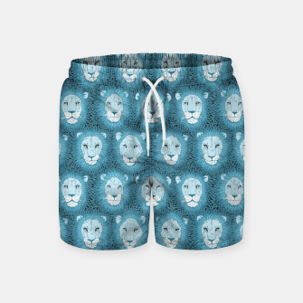 Thumbnail image of Camelot - Blue Lions Swim Shorts, Live Heroes
