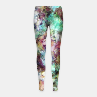Imagen en miniatura de Mixed emotions Girl's leggings, Live Heroes