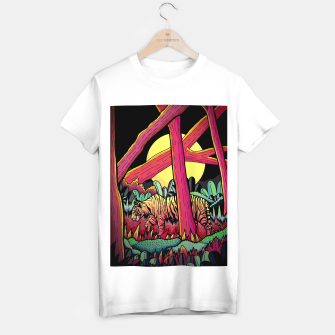 A nighttime stroll T-shirt regular miniature